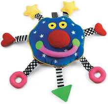 Load image into Gallery viewer, Whoozit Rattle and Squeaker Sound Developmental Baby Toy