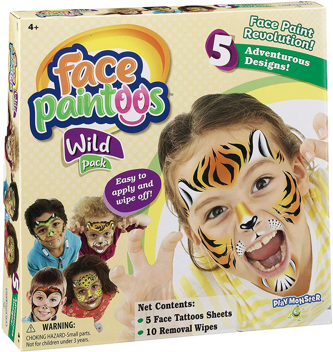 Face Paintoos - Wild Pack