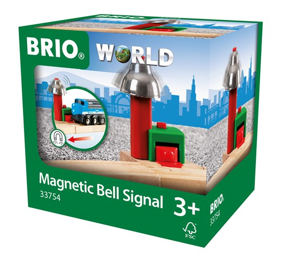 BRIO Magnetic Bell Signal for Railway