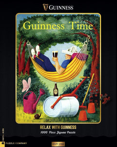 New York Puzzle Company - Relax with Guinness - 1000 Piece Jigsaw Puzzle