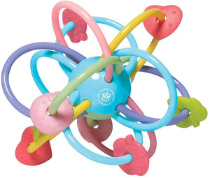 Manhattan Ball Baby Rattle & Sensory Teether Toy