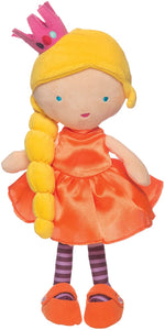 Manhattan Toy Princess Jellybeans Holly Soft Princess Doll, 14""