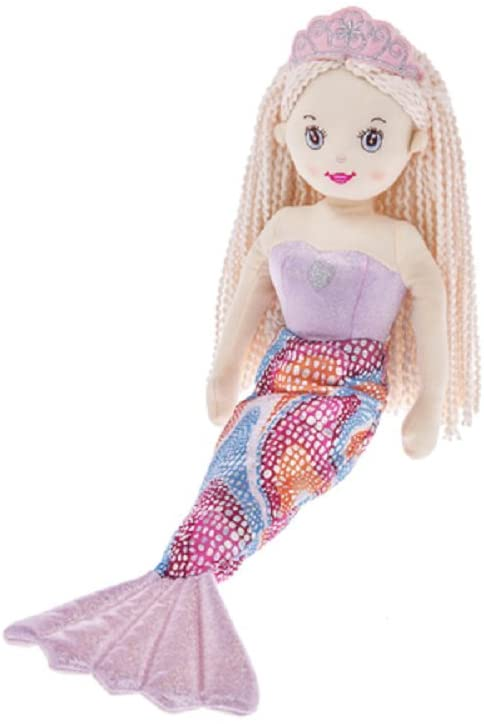 Ganz 18 in Shimmer Cove Mermaid Plush Doll - Shelly