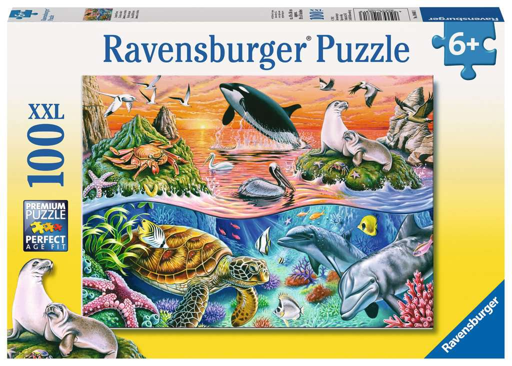 Ravensburger Beautiful Ocean 100 piece puzzle