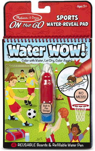 Water Wow! - Sports Water Reveal Pad - ON the GO Travel Activity