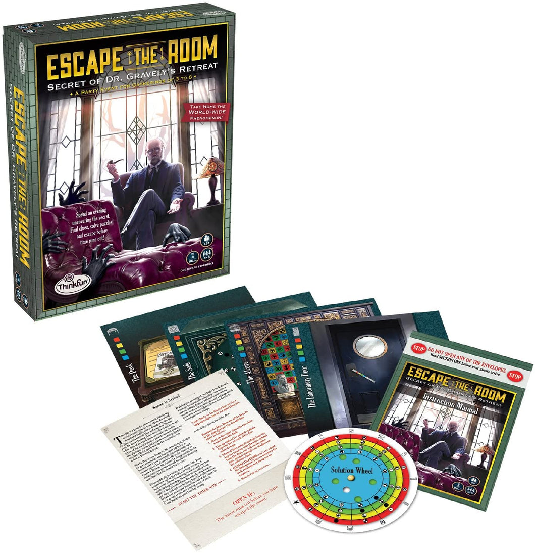 Escape the Room Secret of Dr. Gravely's Retreat - An Escape Room Experience