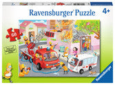 Ravensburger Firefighter Rescue 60 piece puzzle