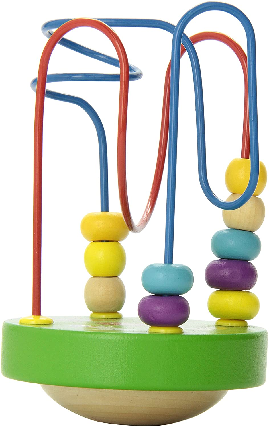 Wobble-A-Round Beads, Colors vary