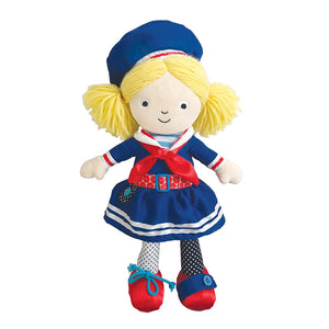 Manhattan Toy Dress up Friends Aimee Doll for Toddlers, 15""