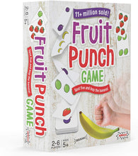 Load image into Gallery viewer, Fruit Punch Kids Card Game with A Squeaky Banana!