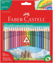 Load image into Gallery viewer, Faber-Castell Grip Colored EcoPencils - 24 Count