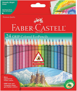 Faber-Castell Grip Colored EcoPencils - 24 Count