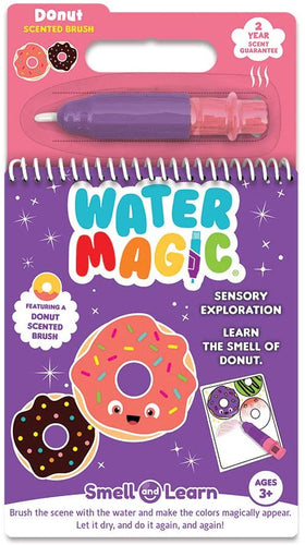 Scentco Water Magic - Scented Reusable Water Reveal Activity Pads - No Mess, All Fun (Donut only)