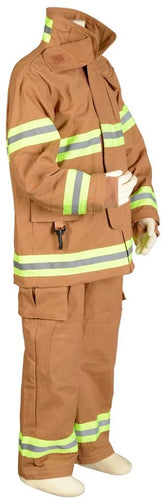 Aeromax Jr. New York Fire Fighter Suit, Tan, Size 2/3. The Best #1 Award Winning Firefighter Suit. The Most Realistic Bunker Gear for Kids Everywhere. Just Like The Real Gear!