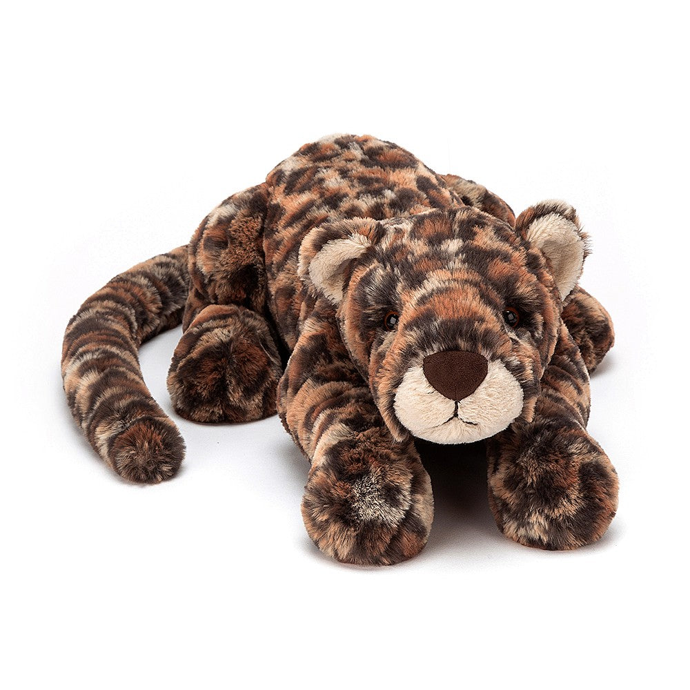 Jellycat Livi Leopard Stuffed Animal, Little, 10 inches