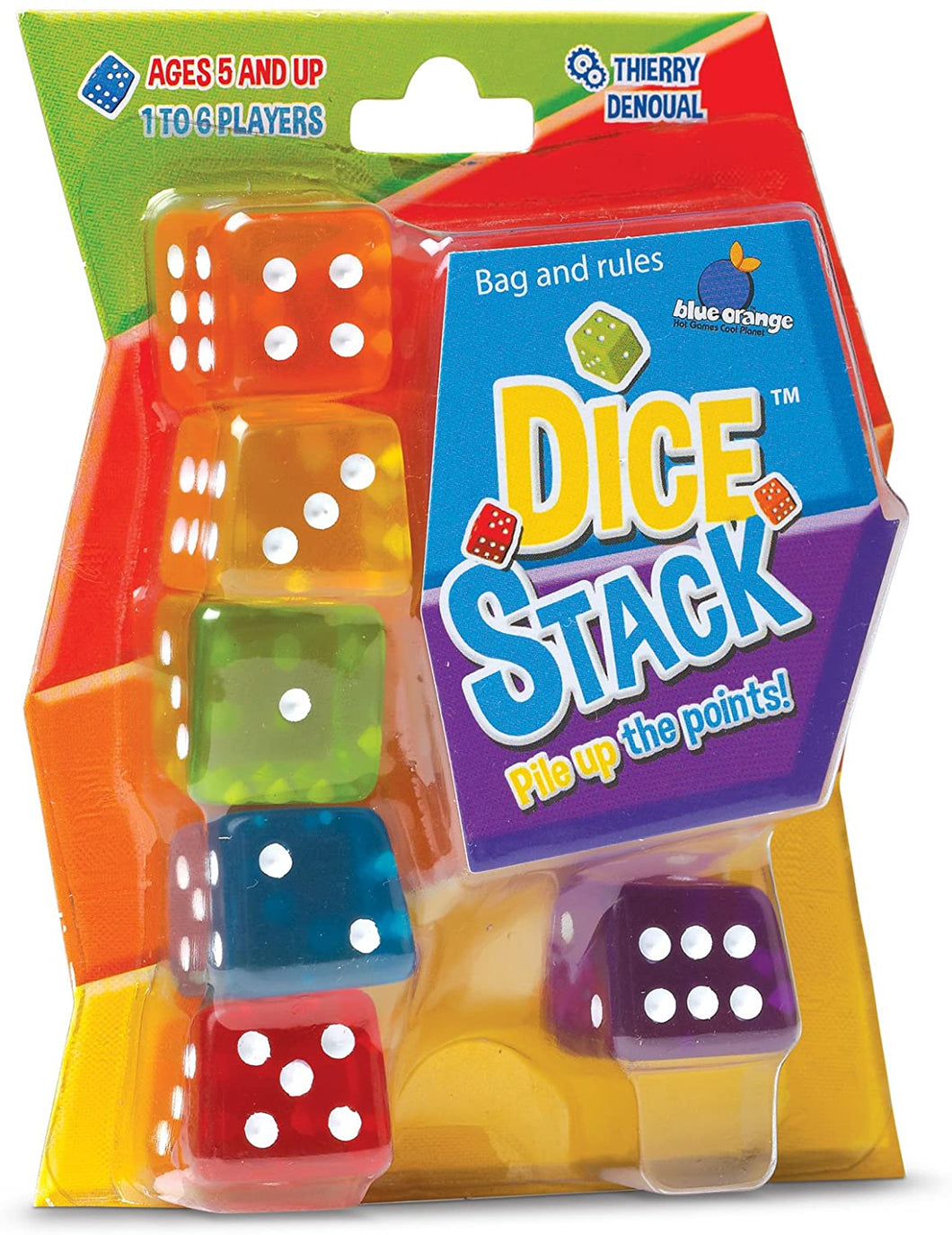 Dice Stack Stacking Dice Game for Kids