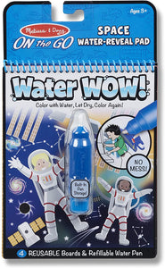 Water Wow! - Space Water Reveal Pad - ON the GO Travel Activity