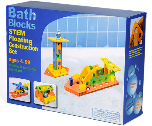 BathBlocks STEM Floating Construction Set