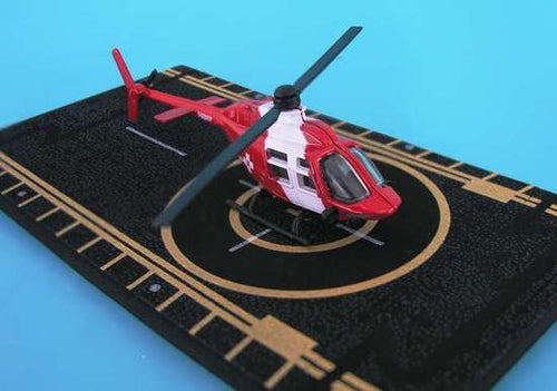 Hot Wings Bell 206 Jet Ranger Life Flight with Connectible Runway