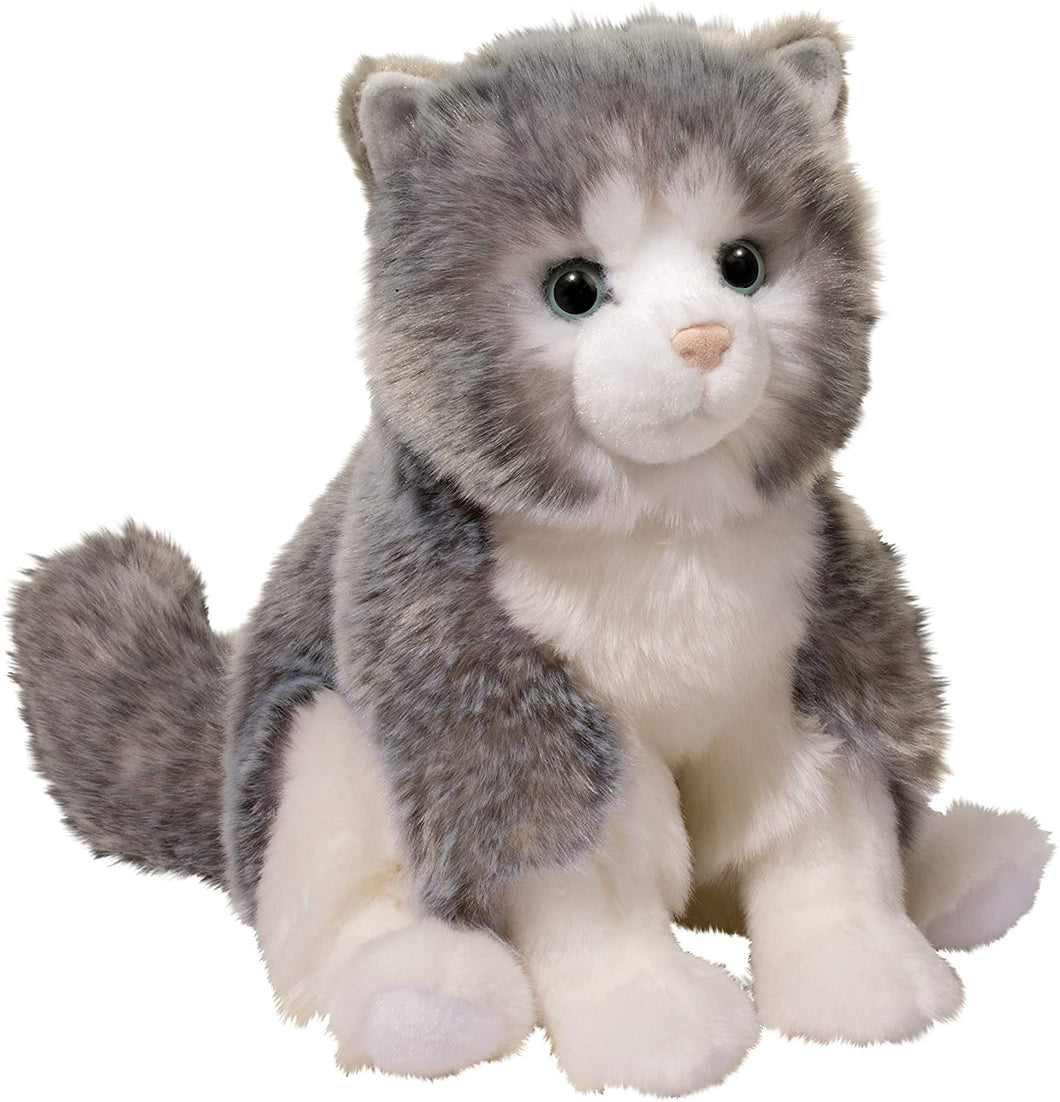 Douglas Shadow Gray Cat Plush Stuffed Animal