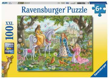 Ravensburger Princess Party 100 piece puzzle