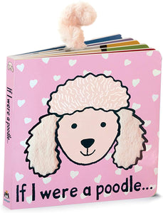 Jellycat Baby Touch and Feel Board Books, If I were a Poodle