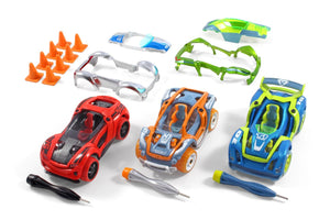 Delux 3-Pack Car Set