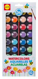 36 Watercolor Paints