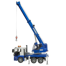 Load image into Gallery viewer, Bruder Crane Truck with Light & Sound
