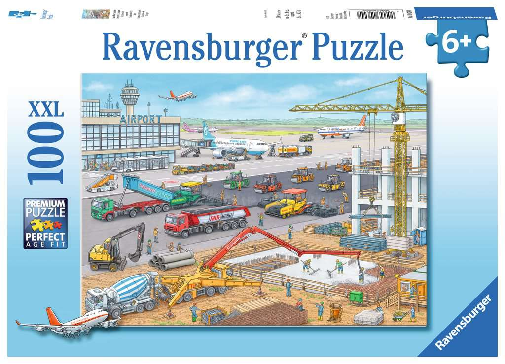 Ravensburger Construction at the Airport 100 piece puzzle