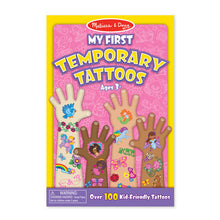 Load image into Gallery viewer, My First Temporary Tattoos: 100+ Kid-Friendly Tattoos - Rainbows, Fairies, Flowers, and More
