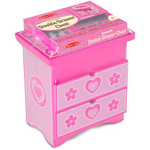 Load image into Gallery viewer, Decorate-Your-Own Double-Drawer Chest Craft Kit
