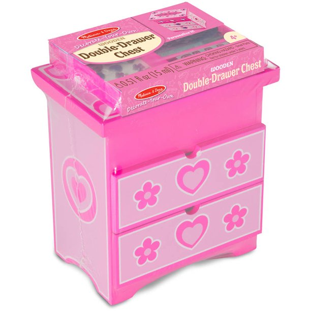 Decorate-Your-Own Double-Drawer Chest Craft Kit