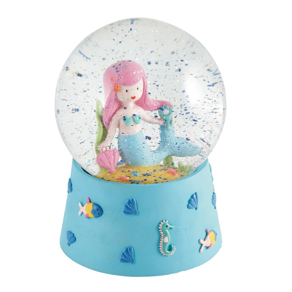 MERMAID MUSICAL SNOW GLOBE