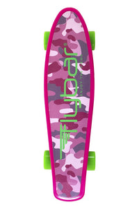 "Flybar 22"" Skateboard for Kids, Beginners - Plastic Cruiser Non-Slip Deck Multiple Colors for Boys and Girls"