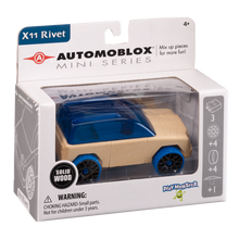 Load image into Gallery viewer, Automoblox Collectible Wood Toy Cars and Trucks—Mini X11 Rivet