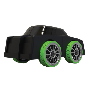 Automoblox Collectible Wood Toy Cars and Trucks--Micro LR1 Nightmare