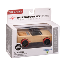 Load image into Gallery viewer, Automoblox Collectible Wood Toy Cars and Trucks—Mini T15L Grizzly