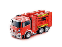 Load image into Gallery viewer, Odyssey Blazin Moto Transforming Robot Firetruck
