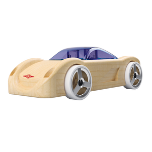 Automoblox Collectible Wood Toy Cars and Trucks—Mini C16 Sidewinder