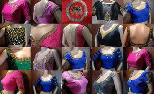 Latest Blouse Designs - Buy Ready Made Blouses - Saree Blouses for women