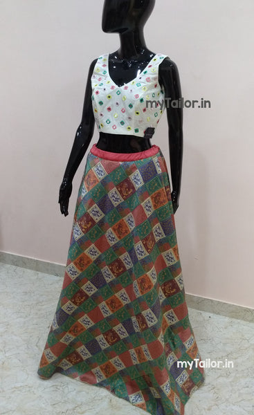 Trendy Lehenga Blouse - latest summer fashion - party wear