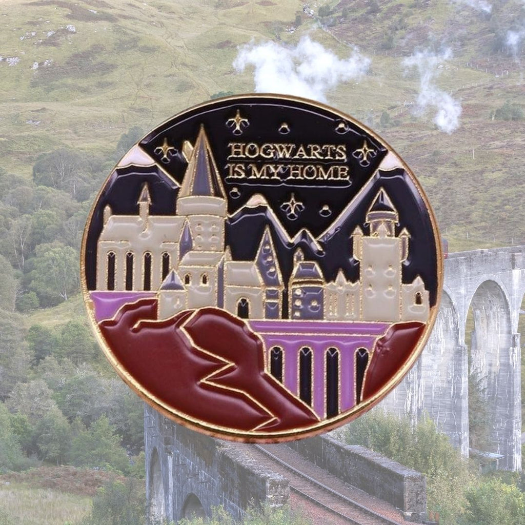 Hogwarts Is My Home Enamel Pin