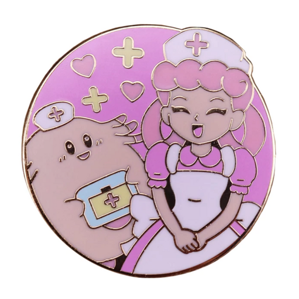 Nurse Joy & Chansey Enamel Pin