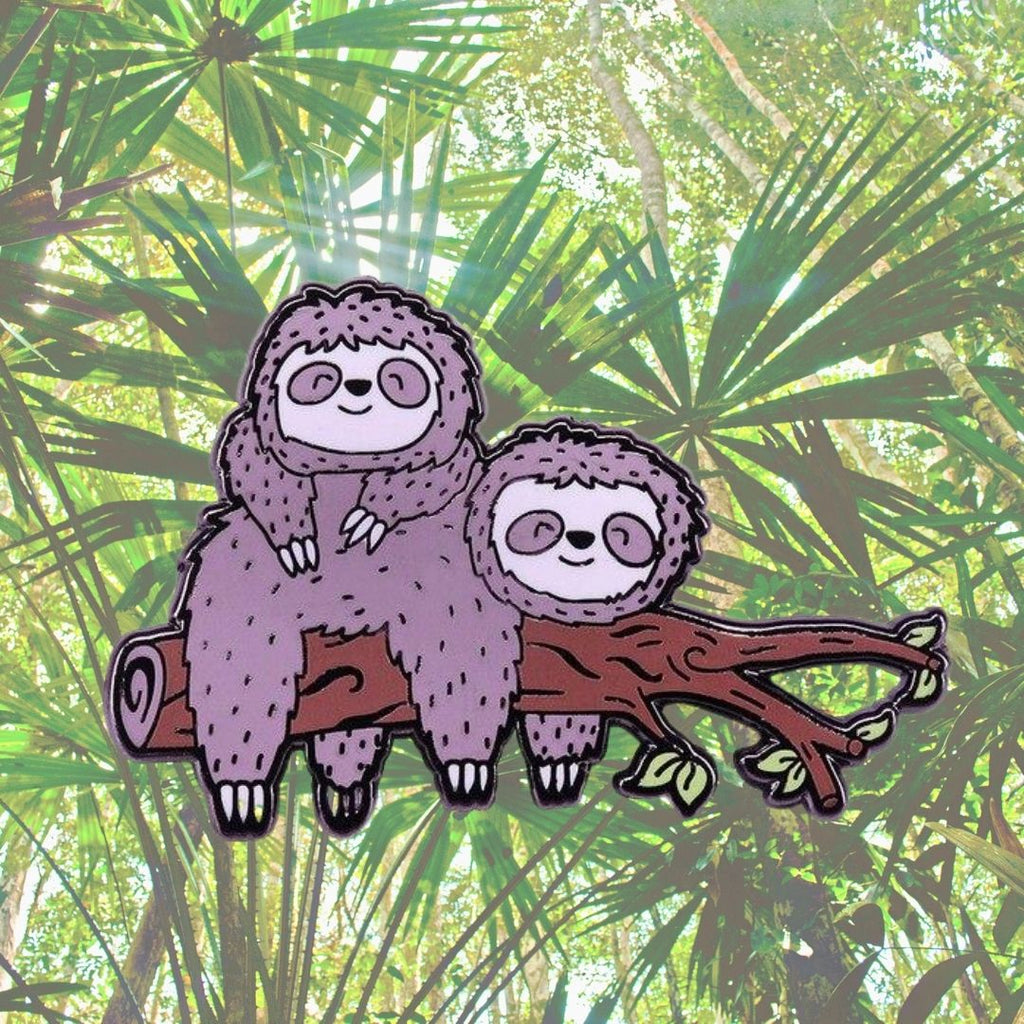 Sloth Pals Enamel Pin