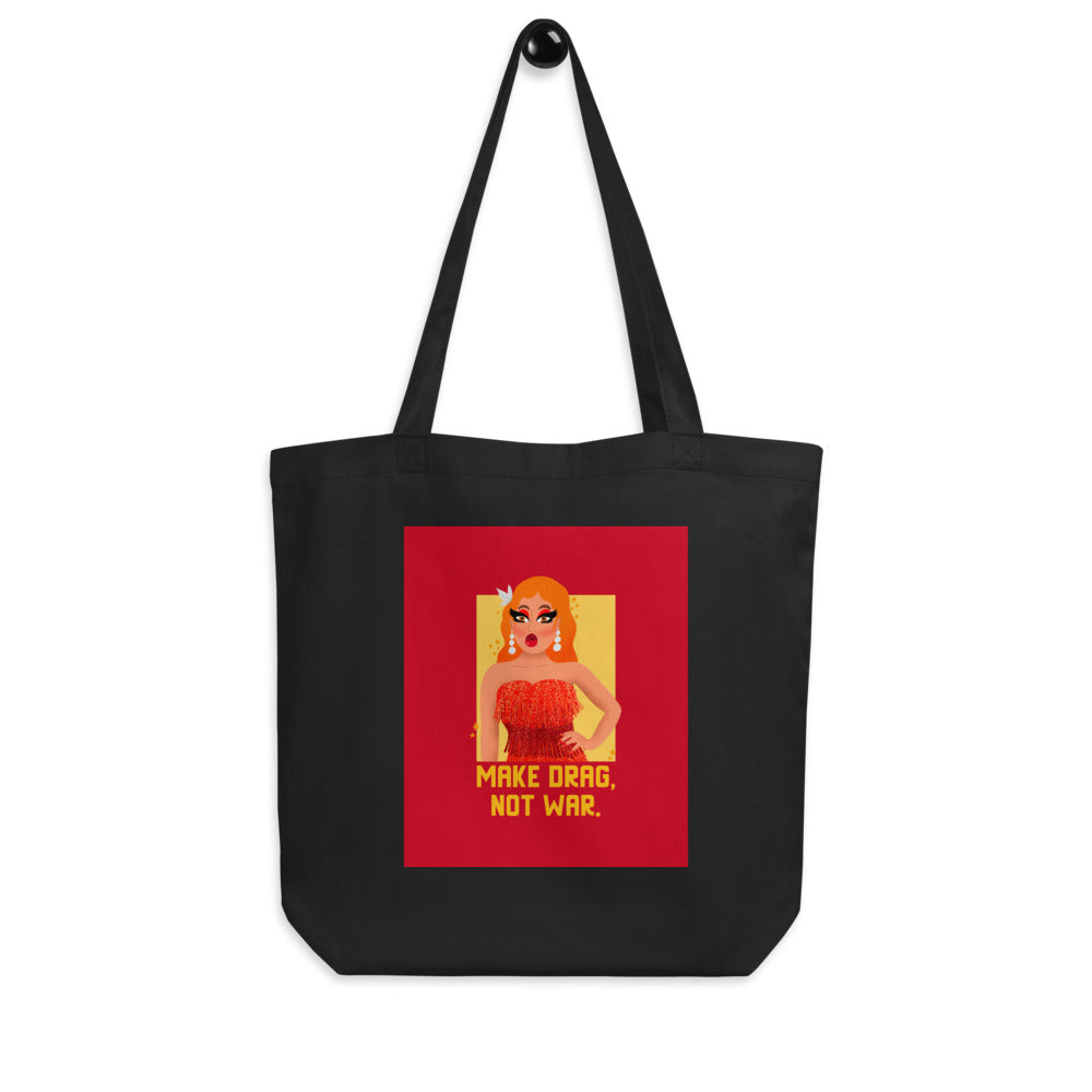 Make Drag Not War Eco Tote Bag