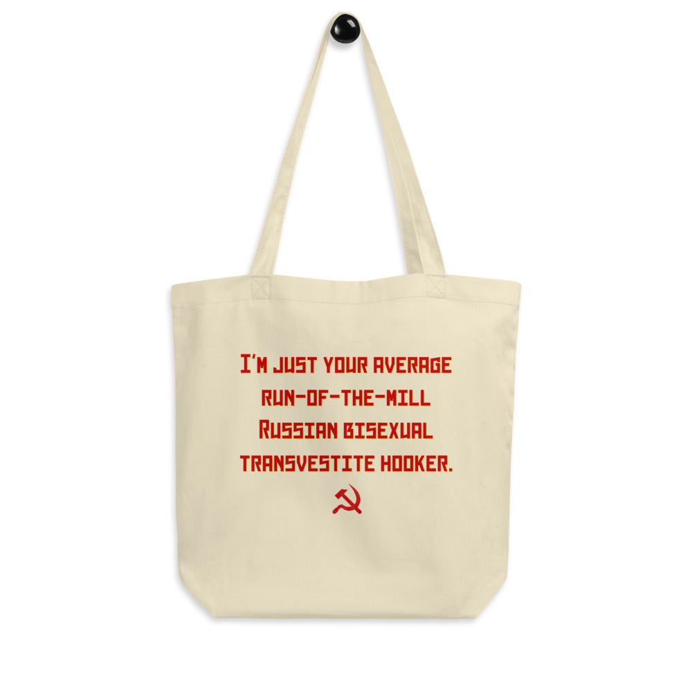 Russian Bisexual Transvestite Hooker Eco Tote Bag