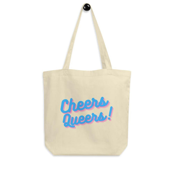 Cheers Queers Eco Tote Bag - Queer In The World: The Store