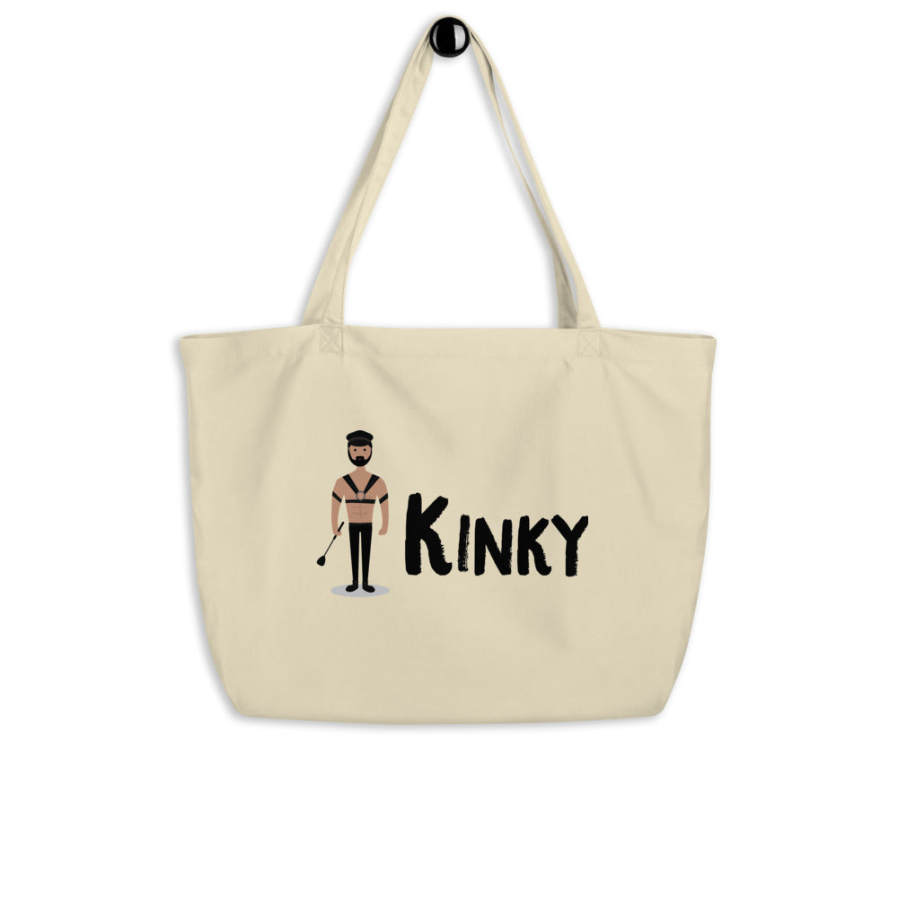 Kinky Large Organic Tote Bag