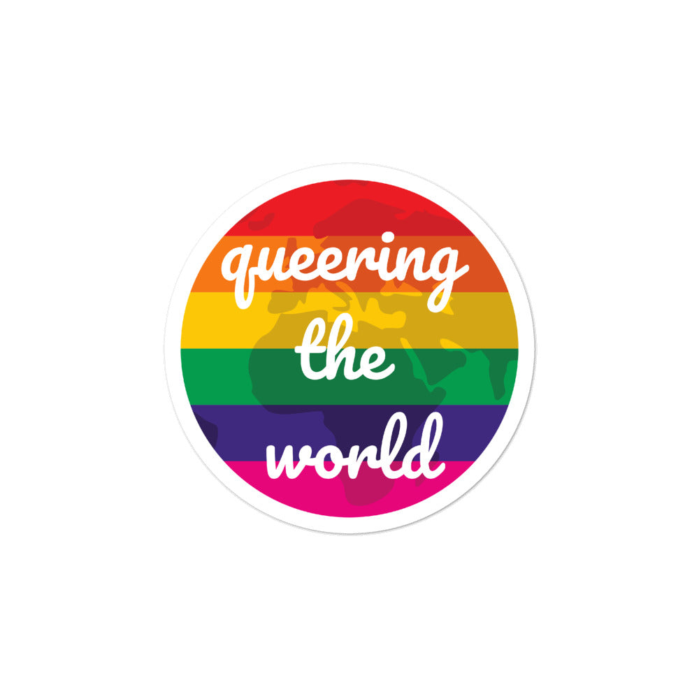 Queering The World Bubble-Free Stickers